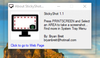 StickyShot screenshot